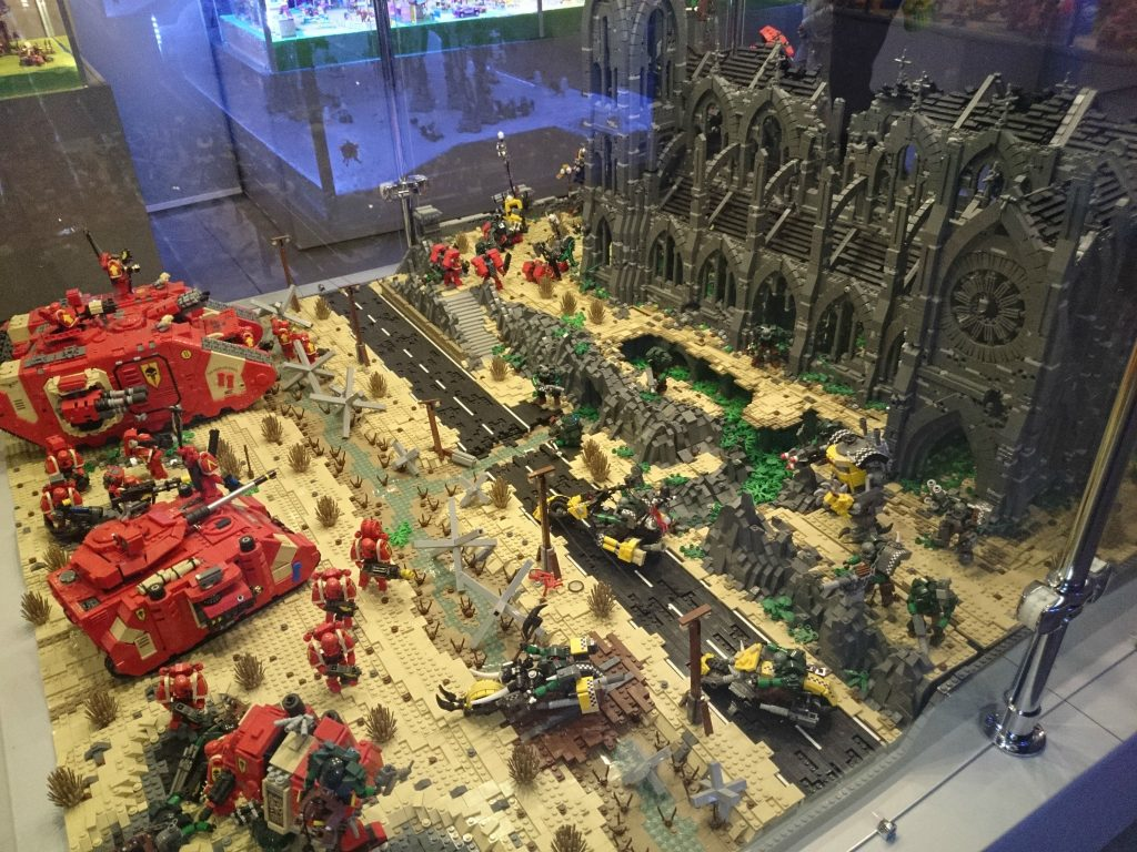 Warhammer 40k Lego space marines
